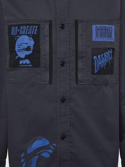 Diesel - S-MARCUS, Dark grey - Shirts - Image 6