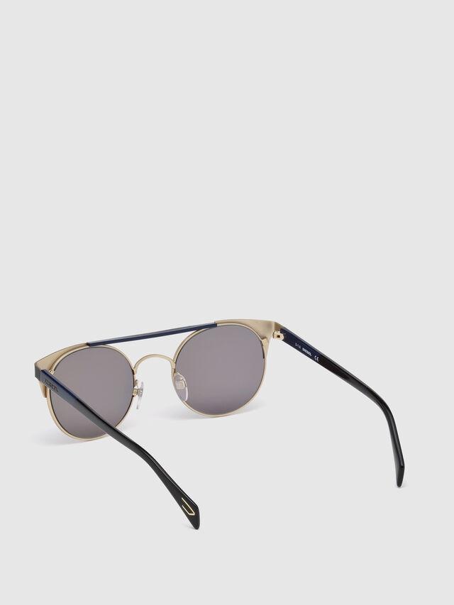 Diesel DL0218, Black/Blue - Eyewear - Image 2