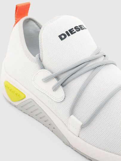 Diesel - S-KB SLE W, White - Sneakers - Image 4