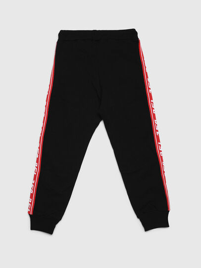 Diesel - PSUITA, Black/Red - Pants - Image 2