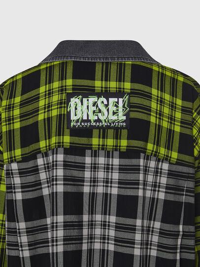 Diesel - C-NILLA, Black/White - Shirts - Image 4