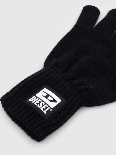 Diesel - K-JACK, Black - Gloves - Image 2