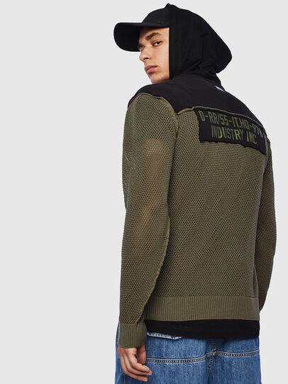 Diesel - K-CONNET, Green/Black - Knitwear - Image 2