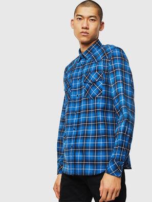 S-EAST-LONG-N, Blue - Shirts