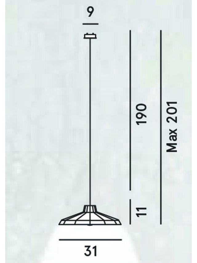 Diesel - MYSTERIO SOSPENSIONE, Black/Grey - Hang Lighting - Image 2