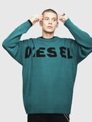 K-LOGOX, Dark Green - Knitwear