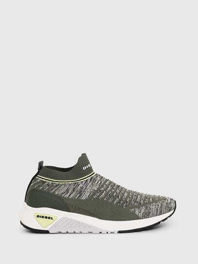 Diesel - S-KB ATHL SOCK II, Olive Green - Sneakers - Image 1