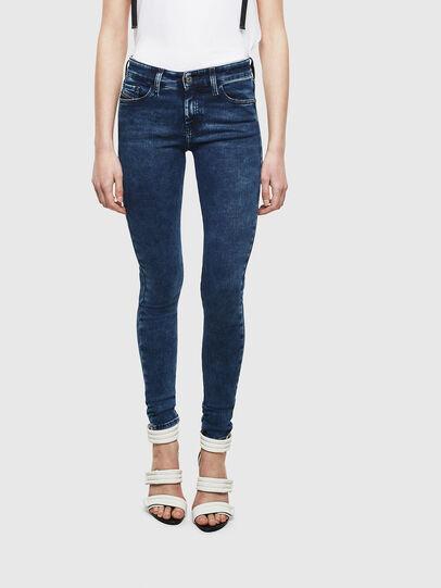 Diesel - Slandy 0094Z, Dark Blue - Jeans - Image 1