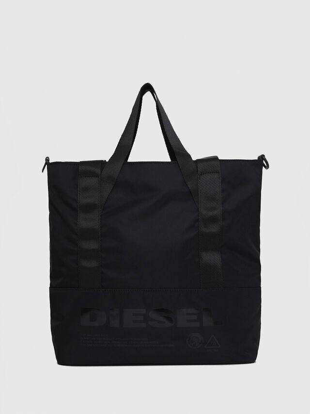 Diesel - F-SUSE T BACK W, Black/Blue - Backpacks - Image 1
