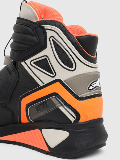 Diesel - ASTARS-SKBOOT, Black/Orange - Sneakers - Image 6