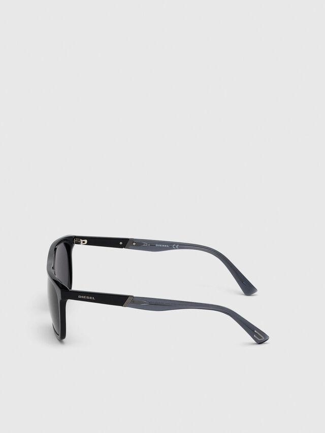 Diesel - DL0299-F, Black/Grey - Sunglasses - Image 3
