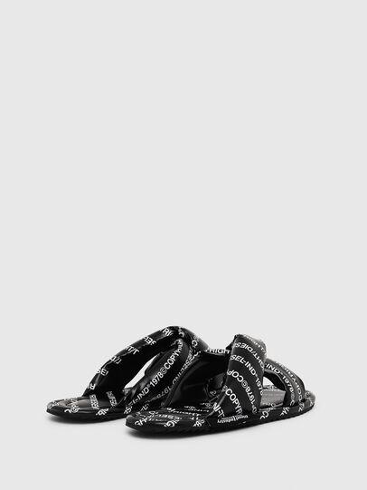 Diesel - SA-MERY X, Black/White - Slippers - Image 3