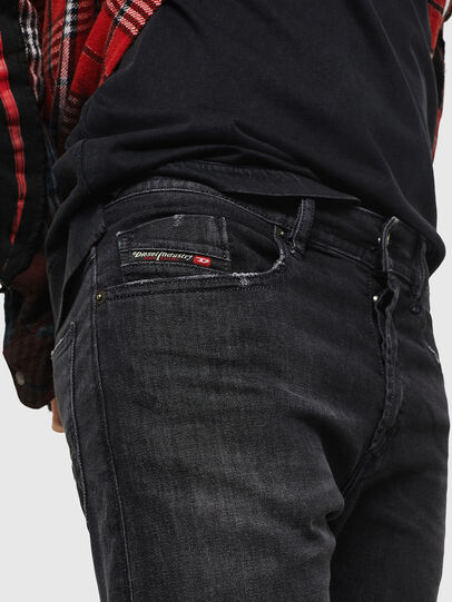 Diesel - Buster 082AS, Black/Dark grey - Jeans - Image 3