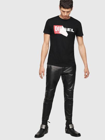 Diesel - T-DIEGO-QA, Black - T-Shirts - Image 4
