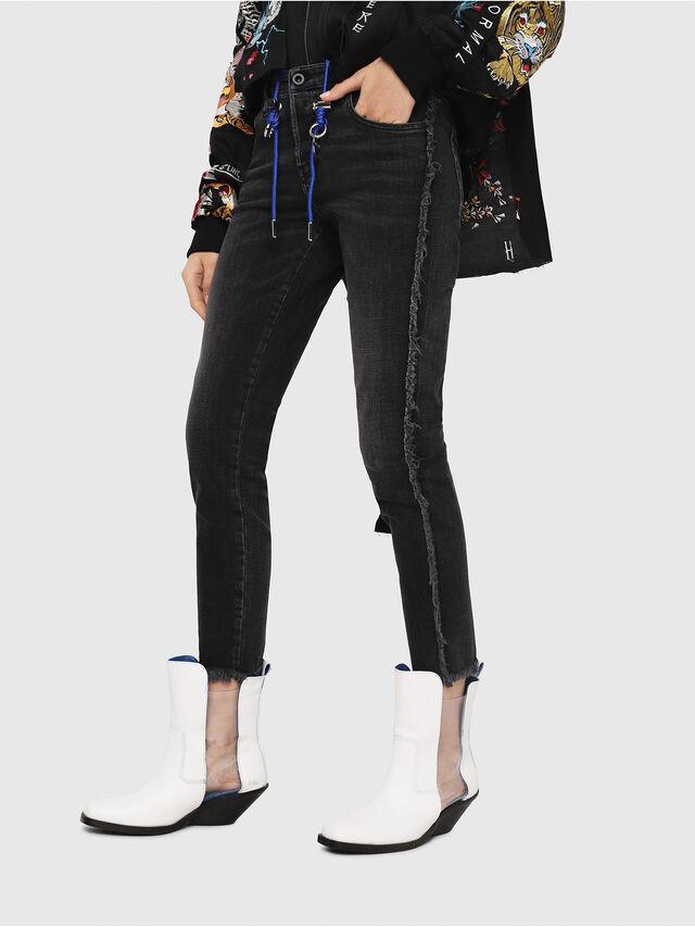 Diesel - Babhila 081AH, Black/Dark grey - Jeans - Image 2