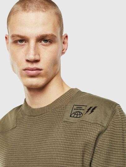 Diesel - K-LESTER, Military Green - Knitwear - Image 3