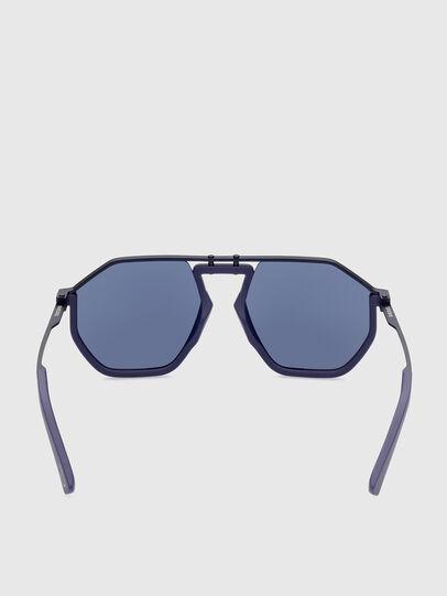Diesel - DL0346, Blue - Sunglasses - Image 4