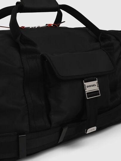 Diesel - M-CAGE DUFFLE M, Black - Travel Bags - Image 4