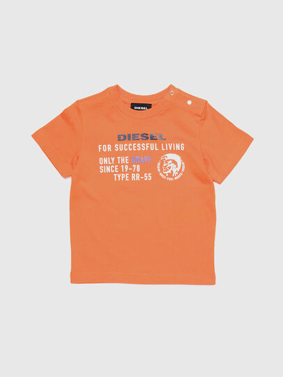 Diesel - TDIEGOXB, Orange - T-shirts and Tops - Image 1