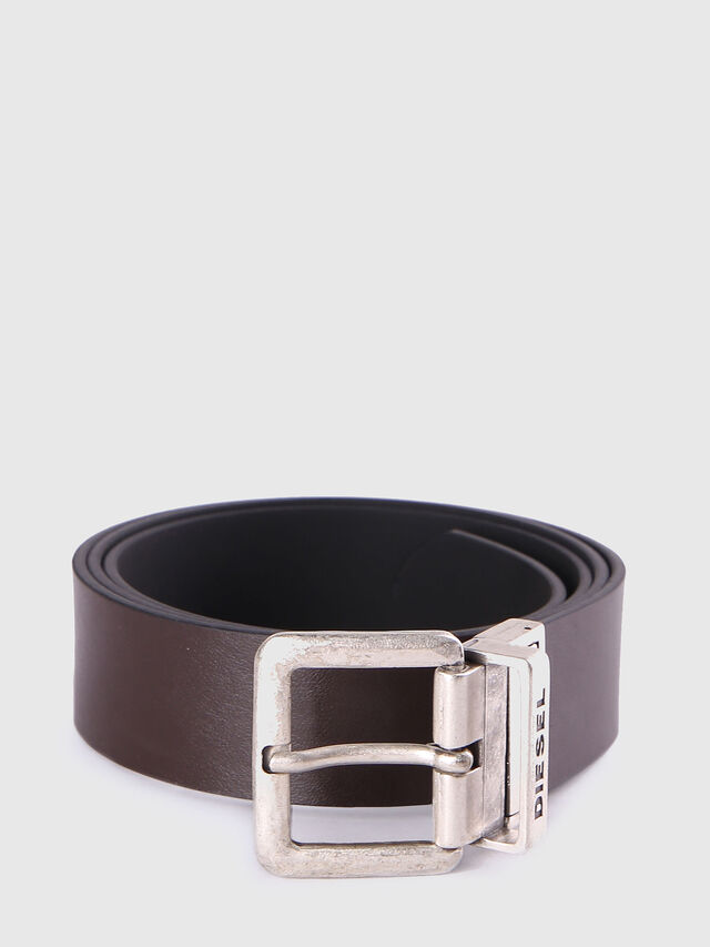 Diesel B-DOUBLEC, Black/Brown - Belts - Image 2
