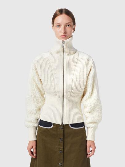 Diesel - M-WISCONSIN, White - Knitwear - Image 1