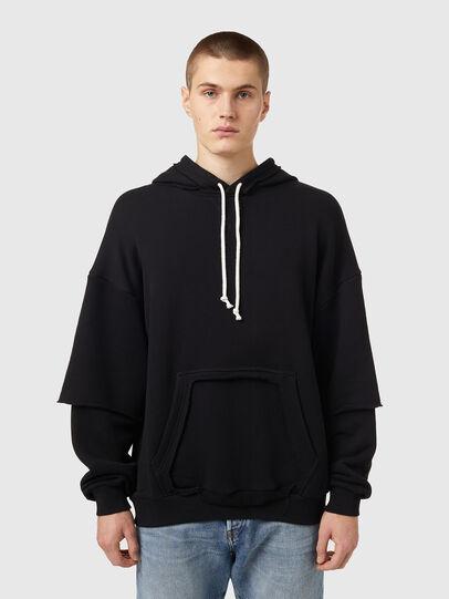 Diesel - S-OBER, Black - Sweaters - Image 1