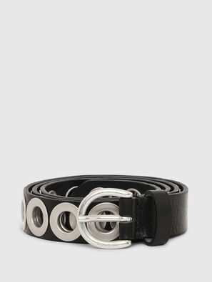 B-SPARK, Black/Silver - Belts
