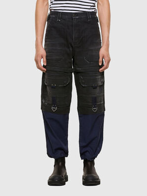 D-Multy 009KX, Black/Blue - Jeans