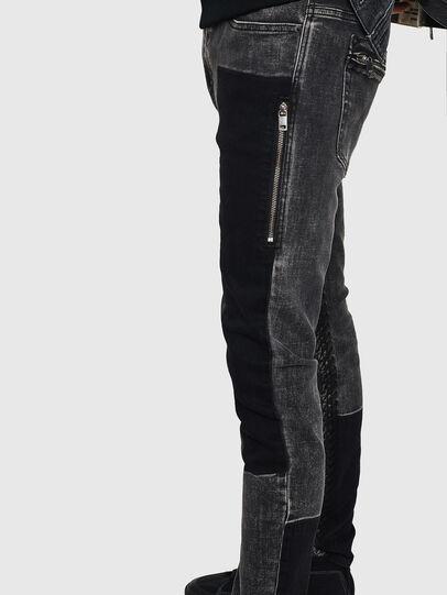 Diesel - D-Amny 0890T, Black/Dark grey - Jeans - Image 5