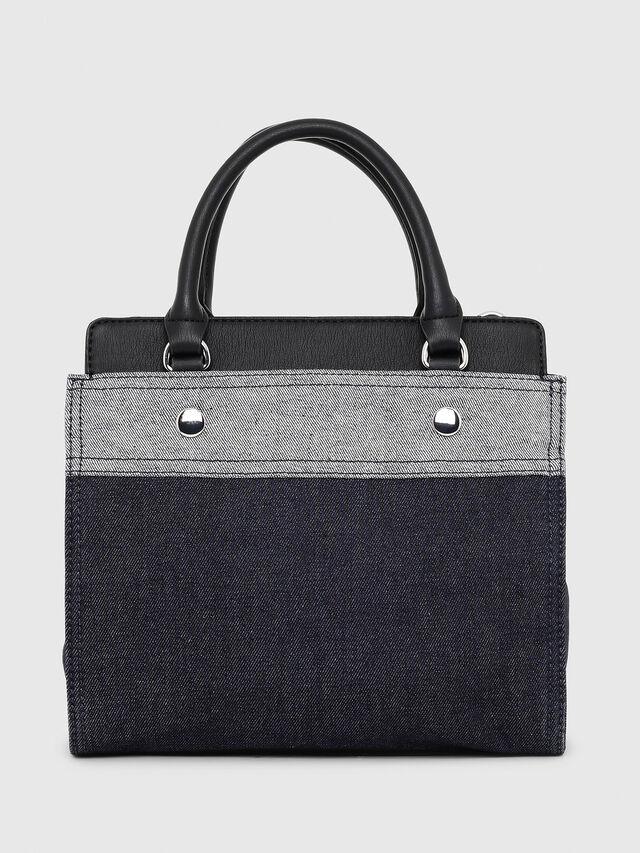 Diesel - F-DESTAR SATCHEL M, Blue/Black - Shopping and Shoulder Bags - Image 2