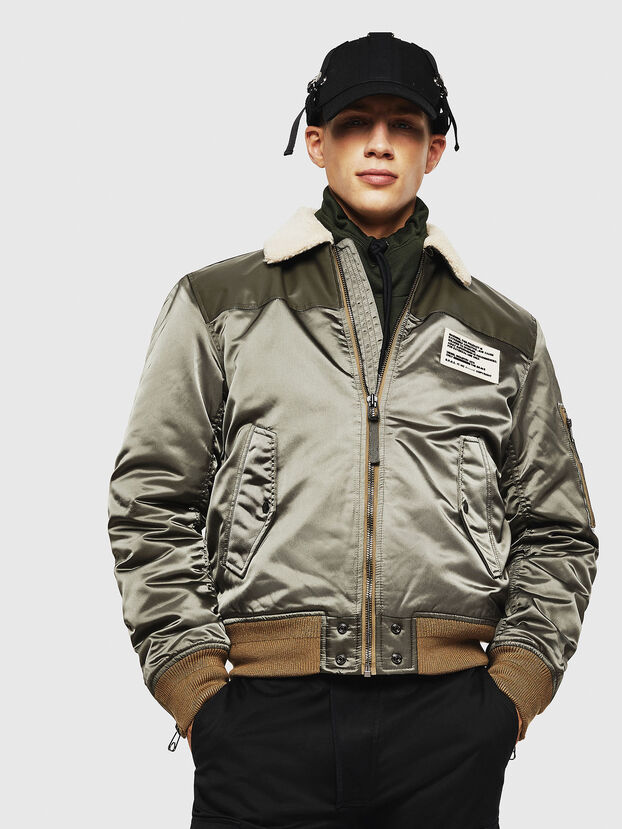 W-FEDOVIK, Military Green - Winter Jackets