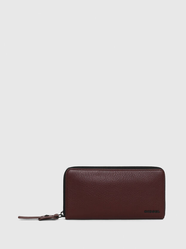 24 ZIP, Burgundy - Small Wallets