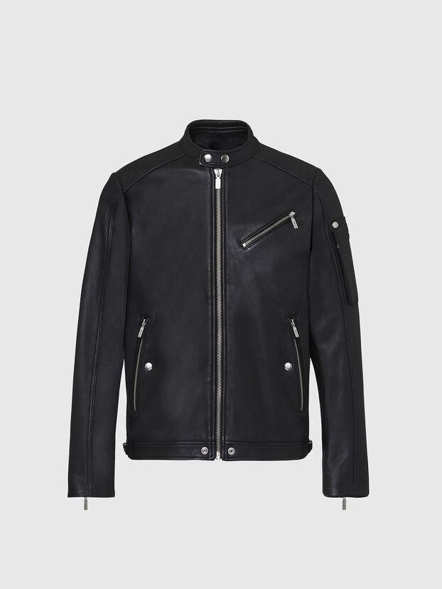 L-CASE-KA, Black - Leather jackets