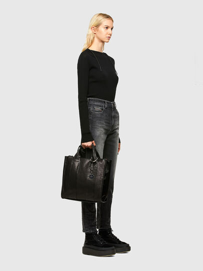 Diesel - HAUNYA, Black - Shopping and Shoulder Bags - Image 6