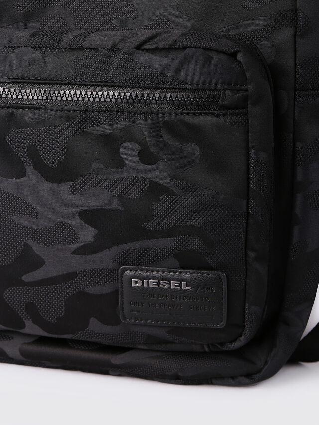 Diesel - F-DISCOVER BACK, Black - Backpacks - Image 4