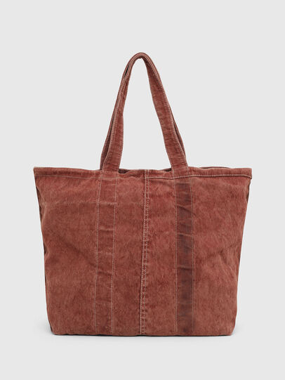Diesel - GRANYTO SHOPPER M, Orange - Shopping and Shoulder Bags - Image 2