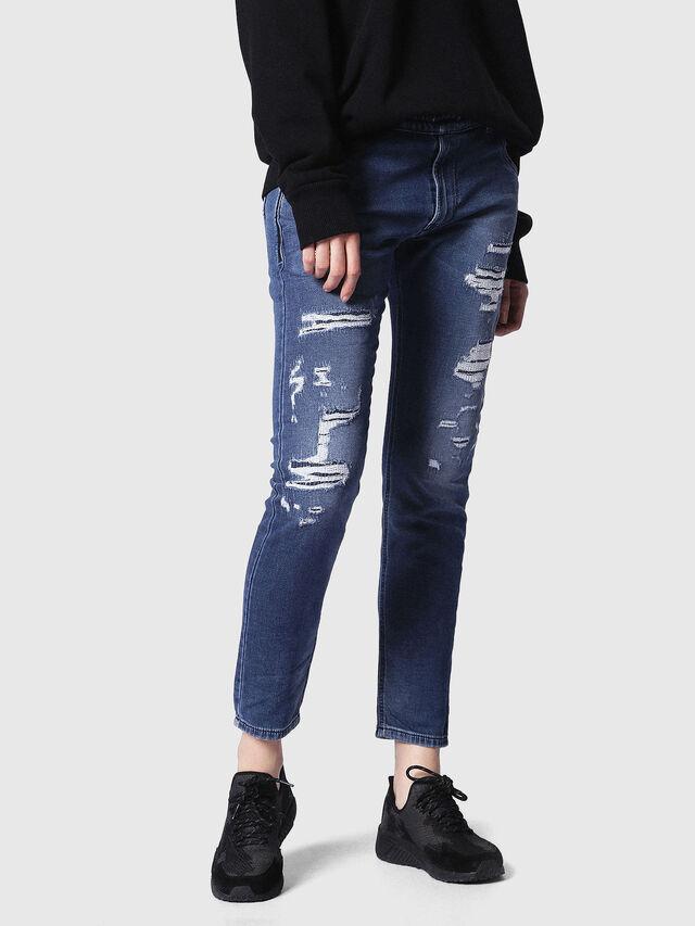 KRAILEY R JOGGJEANS 084MG, Blue jeans