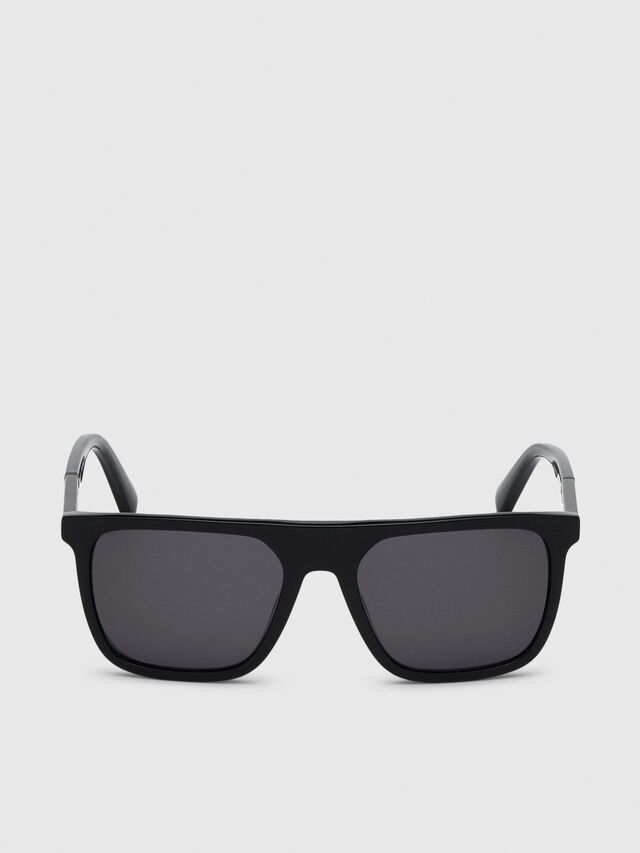 Diesel - DL0299-F, Black/Grey - Sunglasses - Image 1