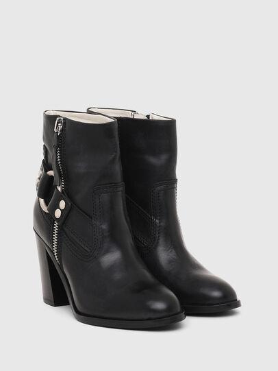 Diesel - D-FLAMINGO ABZ, Black - Ankle Boots - Image 2