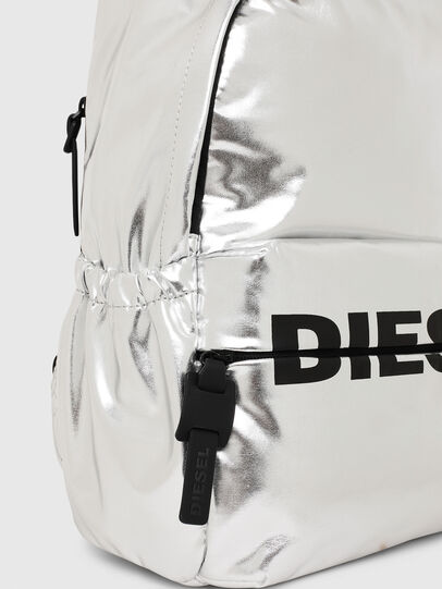 Diesel - F-BOLD BACK II, Silver - Backpacks - Image 4