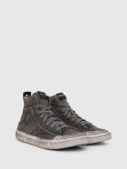 Diesel - S-ASTICO MID LACE, Dark grey - Sneakers - Image 2