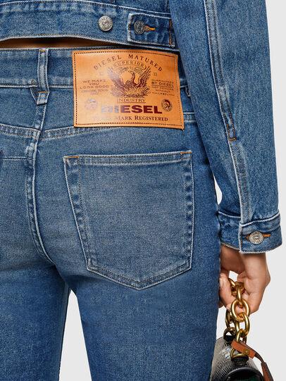 Diesel - D-Earlie 009NP, Medium blue - Jeans - Image 4