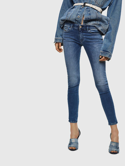 Diesel - Slandy Low 084NM, Medium blue - Jeans - Image 1