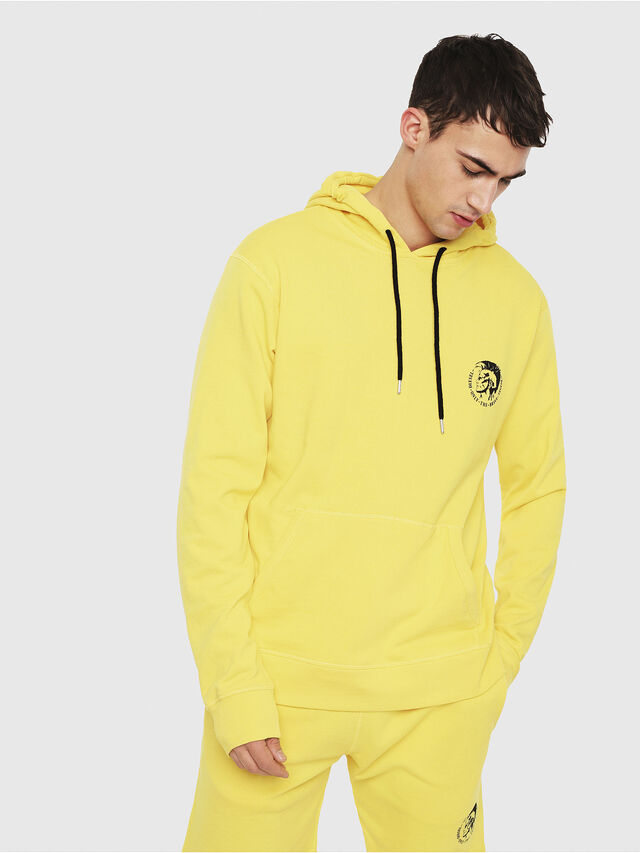 Diesel - UMLT-BRANDON, Yellow - Sweaters - Image 1