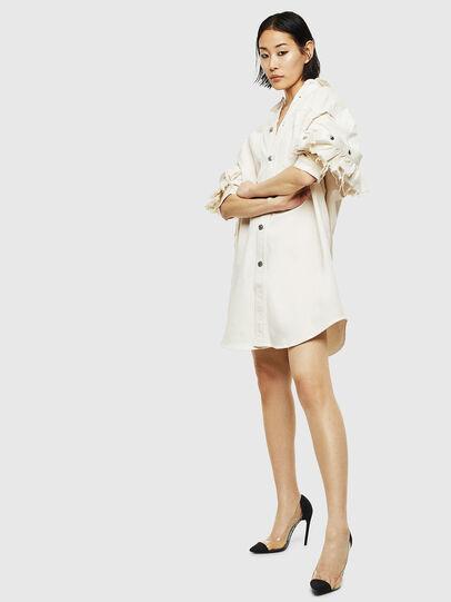 Diesel - D-BABOL JOGGJEANS, White - Dresses - Image 6