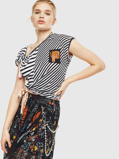 Diesel - O-PLIZ, Black - Skirts - Image 5