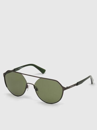 Diesel - DL0324, Black/Green - Sunglasses - Image 2