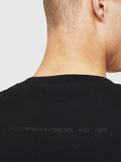 Diesel - T-JUST-T30, Black - T-Shirts - Image 4