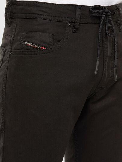 Diesel - Thommer JoggJeans 069NC, Black/Dark grey - Jeans - Image 4