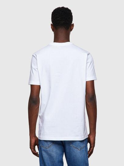 Diesel - T-DIEGOS-B8, Red/White - T-Shirts - Image 2